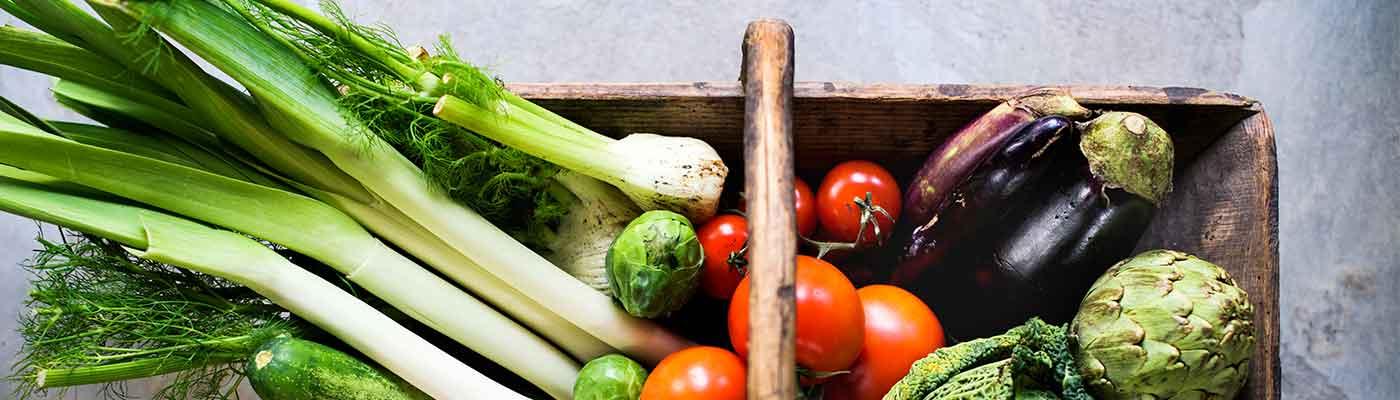 Cestas ecológicas de fruta y verdura directa de nuestro huerto